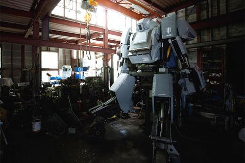 巨大ロボット「クラタス」