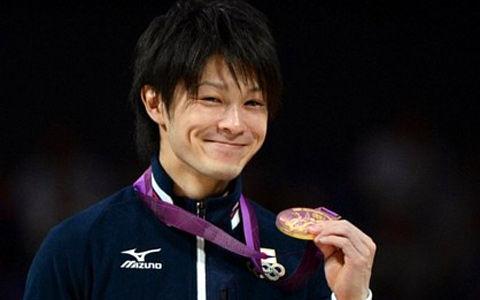 内村航平(こうへい)選手 金メダル