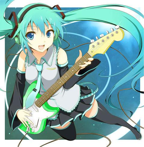 ミク ギター
