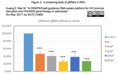 HIV gRNA screen