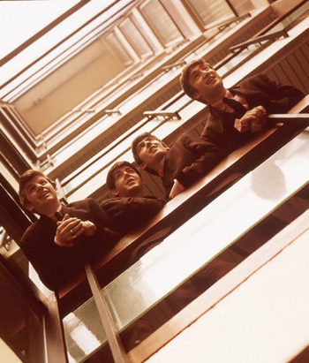 the beatles 1962 by Angus McBean