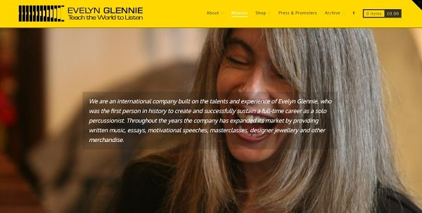 evelyn glennie mission statement