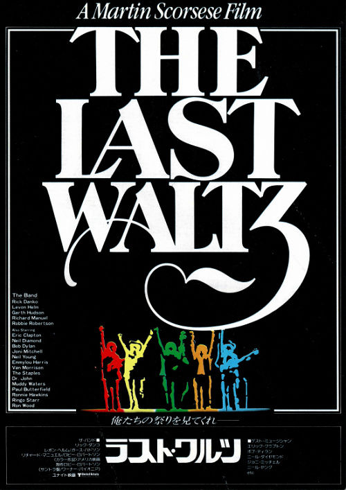 THE LAST WALTZ 1978 映画ポスター
