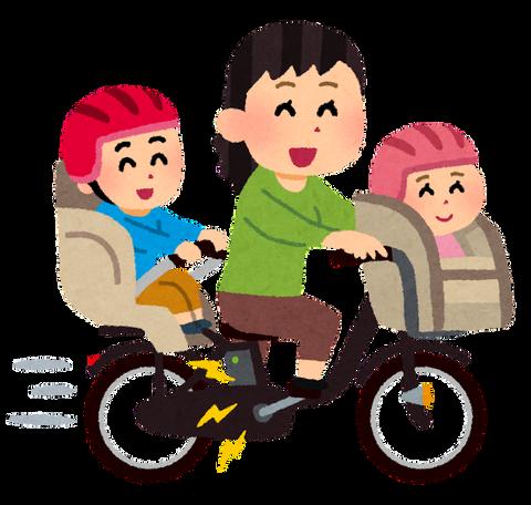 【乗り物】日本が世界に誇るママチャリ(子供2人乗せ)に海外記者驚き「とても効率的な移動手段だ」(※画像あり)