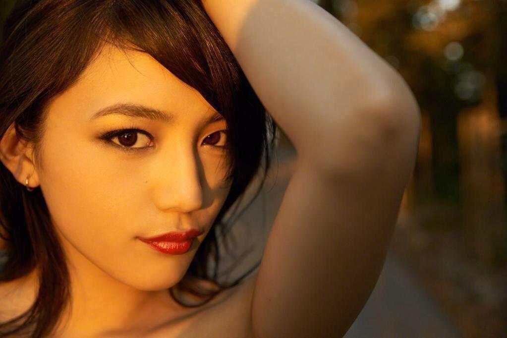 黒髪の川口春奈さん