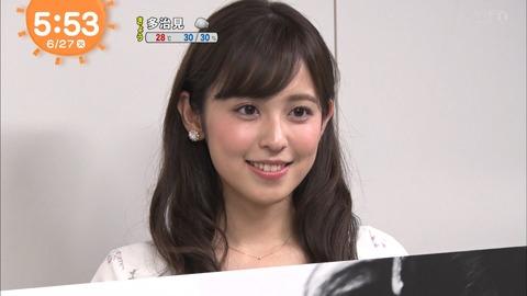 【画像】<久慈暁子アナ>冠番組!史上最速3カ月で「クジパン」起用
