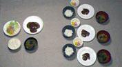 祇園ダイエットの小分け食事療法の写真