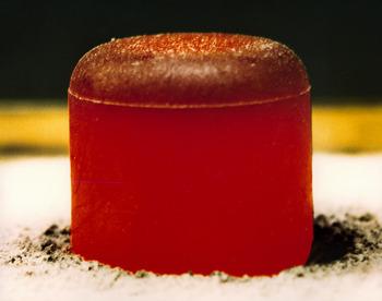 Radioisotope_thermoelectric_generator_plutonium_pellet