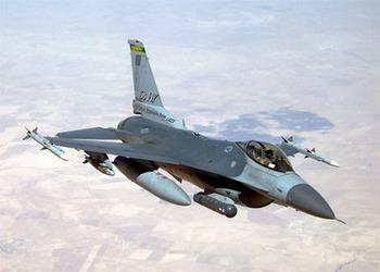米空軍州兵のF-16