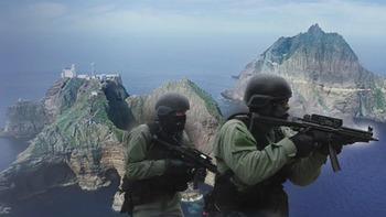 【悲報】韓国軍、自衛権発動にビビって上陸中止!!さらに竹島「日本国民に対する防衛訓練」であることも判明!日本外務省が激怒で韓国政府に伝達