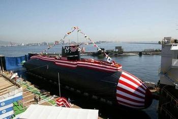 日本のそうりゅう型潜水艦2