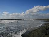 飯岡の海岸