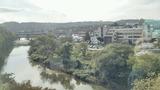 市民会館のすぐ裏には広瀬川が流れます。