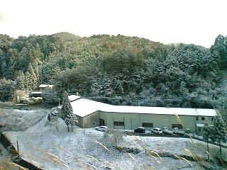 三月の雪景色