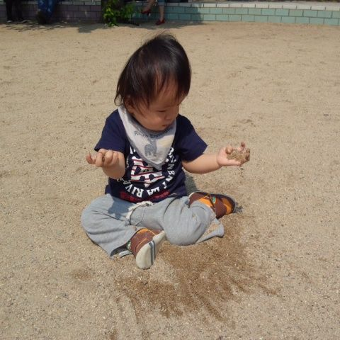 砂場のばぶちゃん