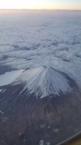 富士山(上空)