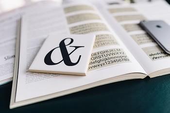 kaboompics_Typography Book