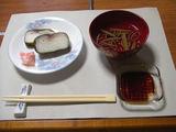 鯖寿司とお吸い物