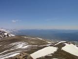 ニペソツ山方向