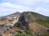 かみふらの岳から上ホロカメットク山方向