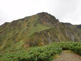 雲峰山から山頂方向