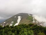 前天塩岳方向