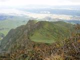 雲峰山、半面岩
