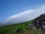 オプタテシケ山方向
