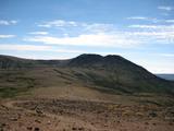 北海岳から白雲岳方向