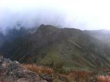 芦別岳山頂から雲峰山
