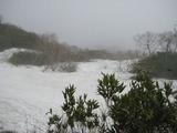 三頭山 雪渓