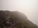 オプタテシケ山山頂方向