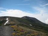 中岳から旭岳方向