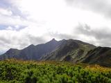 芦別岳が見えた