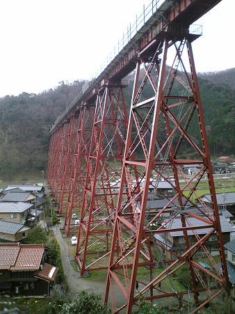 余部鉄橋サイド