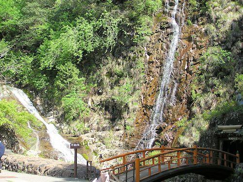 生野銀山滝