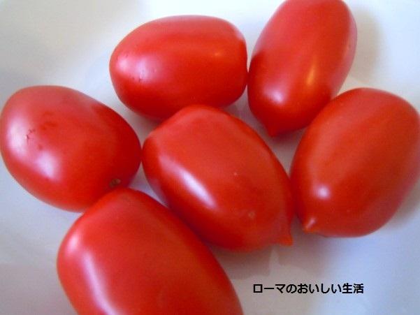 ローマのおいしい生活-tomato