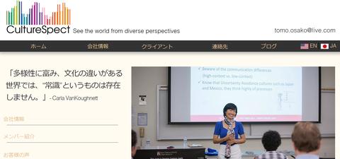 CultureSpect JP Site