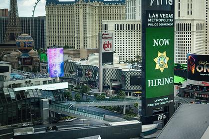 Empty Las Vegas