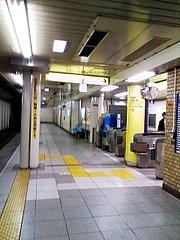 東京メトロ日比谷線茅場町駅2番出口改札