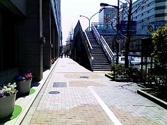 昭和通りの歩道橋