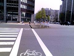 八重洲通りと昭和通りの交差点