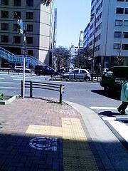 さくら通りと昭和通りの交差点
