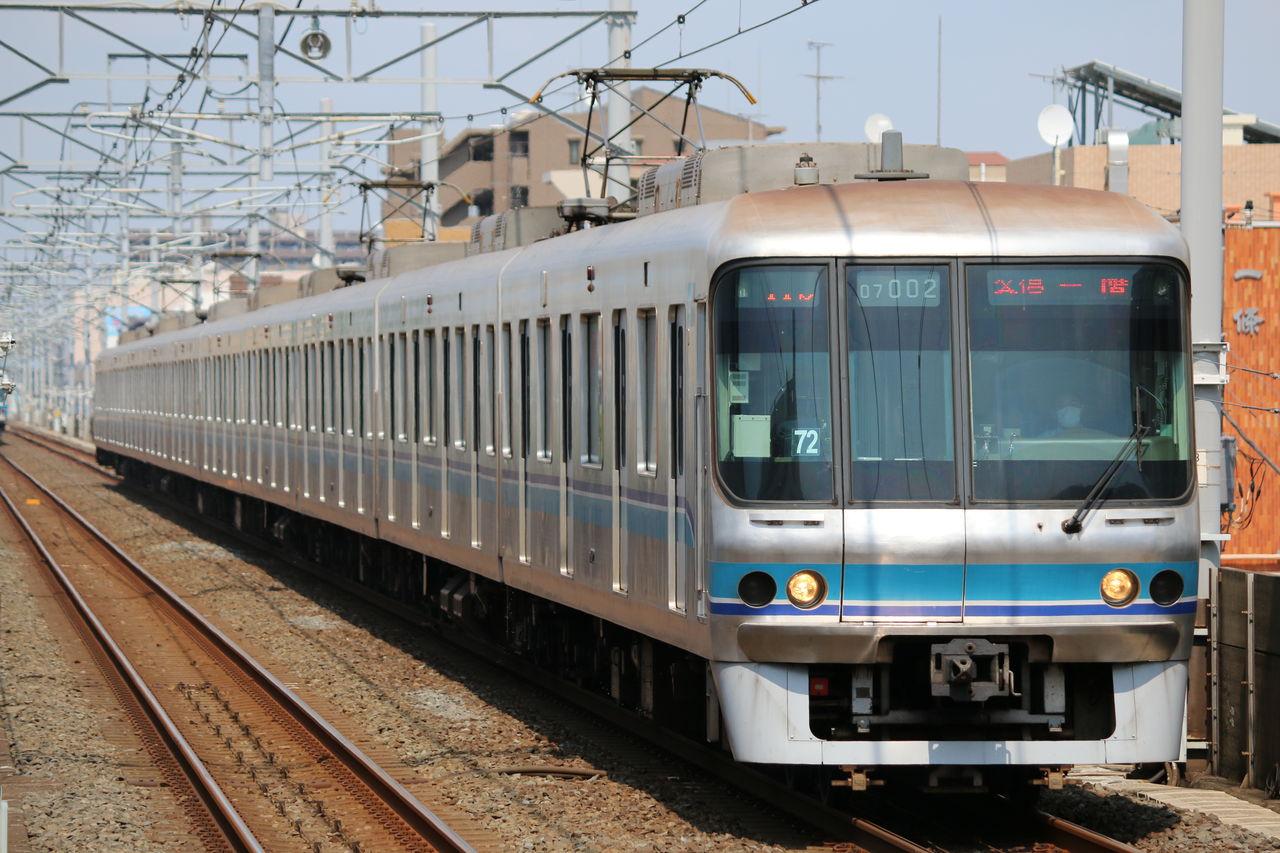 8月21日 東京メトロ東西線撮影 07系・05系B修繕車 : ロゼッタの撮影日記