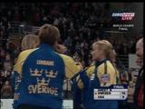 優勝したスウェーデンチーム