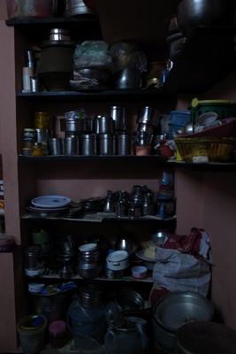 シャンティー家食器棚