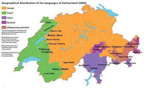 map switzerland language