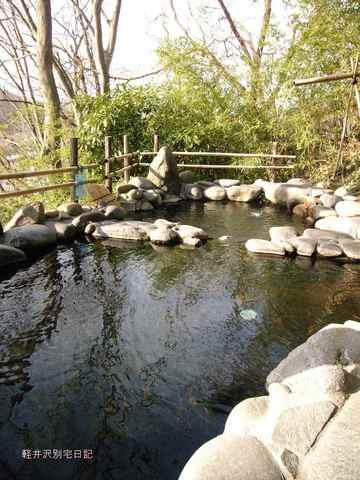 中棚荘露天風呂