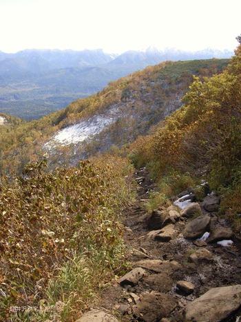 銀泉台山道2