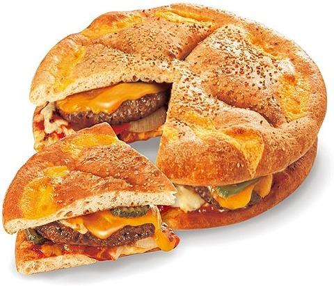 ハンバーガーピッツァ